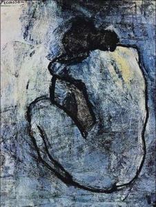 Pablo Picasso - Niebieski akt