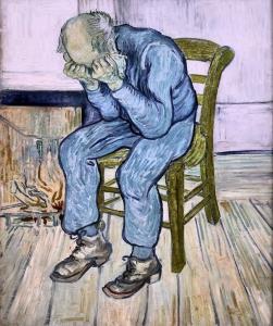 Vincent Van Gogh - Stary człowiek w smutku