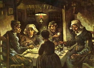 Vincent van Gogh - Jedzący kartofle