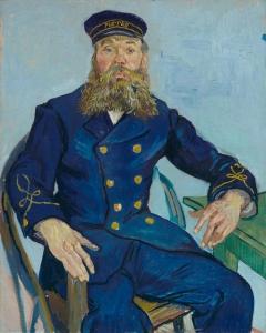 Vincent van Gogh - Portret listonosza Józefa Roulina