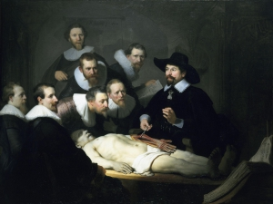 Rembrandt van Rijn - Lekcja anatomii doktora Tulpa