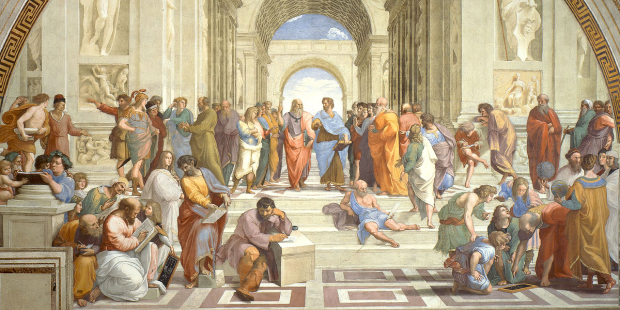Raffaello Santi - Szkoła Ateńska