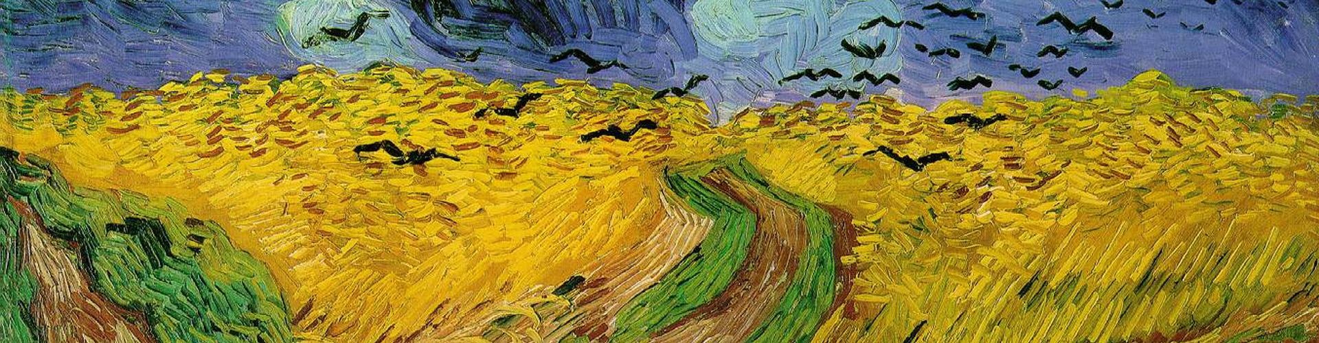Vincent van Gogh - Pole pszenicy z krukami
